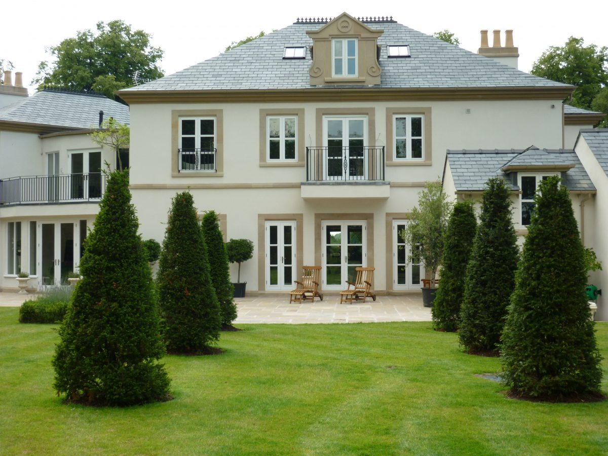 Contemporary House in the style of a French Chateaux