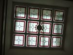 191 - Feature stained glass ceiling