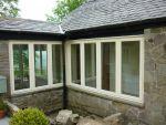186 - Clear pane stormproof style windows on barn