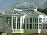 109 - Central sections of the orangery with feature roof ridge